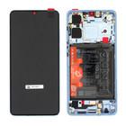 Huawei P30 New Edition (ELE-L29) Display + Batterie, Breathing Crystal, 02354HMF