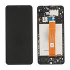 Samsung A125F Galaxy A12 Display, Black, GH82-24490A;GH82-24491A