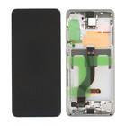 Samsung G985F/DS Galaxy S20+ Display, Cloud White, GH82-22145B;GH82-22134B