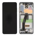 Samsung G981F/DS Galaxy S20 5G Display, Cloud White, GH82-22123B;GH82-22131B