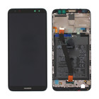 Huawei Mate 10 Lite RNE-L01 LCD Display Module + Touch Screen Display + Frame, Zwart, Incl. Battery 3340mAH, 02351QCY;02351PYX