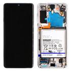 Samsung G991B Galaxy S21 5G Display + Batterie, Phantom White, GH82-24716C;GH82-24718C
