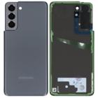 Samsung G991B Galaxy S21 5G Battery Cover, Phantom Gray, GH82-24520A;GH82-24519A