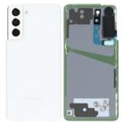 Samsung G991B Galaxy S21 5G Battery Cover, Phantom White, GH82-24520C;GH82-24519C