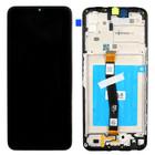 Samsung A226B Galaxy A22 5G Display, Zwart, Incl. frame, tape for battery, GH81-20694A