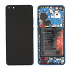 Huawei ELS-N29 P40 Pro Display, Deep Sea Blue/Blau, 02353PJJ