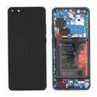 Huawei ELS-N29 P40 Pro Display, Deep Sea Blue/Blauw, 02353PJJ