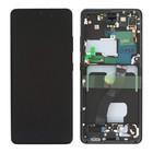 Samsung G998B Galaxy S21 Ultra 5G Display, Phantom Black/Schwarz, GH82-26035A;GH82-26036A