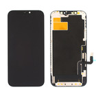 Display, OEM Refurbished, Black, Compatible With The Apple iPhone 12 Pro