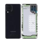 Samsung A225F Galaxy A22 4G Battery Cover, Black, GH82-25959A;GH82-26518A