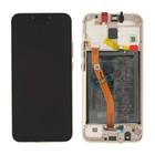 Huawei Mate 20 lite (SNE-LX1) Display, Goud, Incl. Battery HB386589ECW, 02352DKN;02352DFP;02352GTV