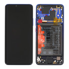 Huawei Mate 20 Pro Dual Sim (LYA-L29C) LCD Display Module, Twilight, Incl. battery HB486486ECW, 02352GGC