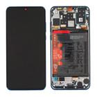 Huawei P30 Lite (MAR-L21) Display, Peacock Blue/Blauw, 02352RQA;02353FQE