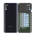 Samsung A415F Galaxy A41 Battery Cover, Prism Crush Black, GH82-22585A
