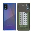 Samsung A415F Galaxy A41 Battery Cover, Prism Crush Blue/Blauw, GH82-22585D
