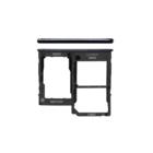 Samsung A415F Galaxy A41 Sim + Memory Card Tray Holder, Prism Crush Black, GH98-45275A