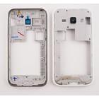 Samsung Middenbehuizing J100H Galaxy J1, Wit, GH98-36101A