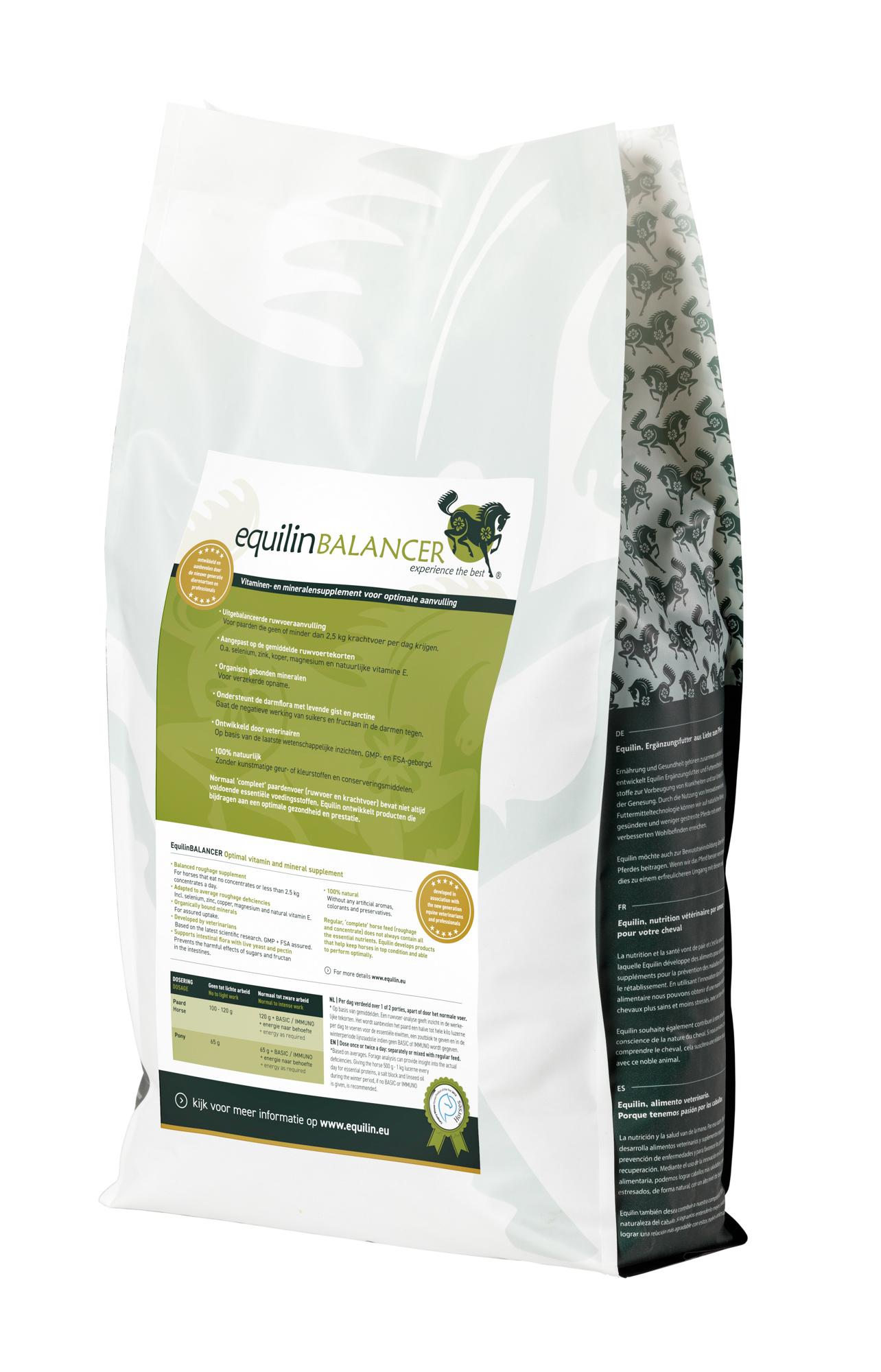 EquilinBALANCER EquilinBALANCER, Roughage Completion in pellets 6,8 kg