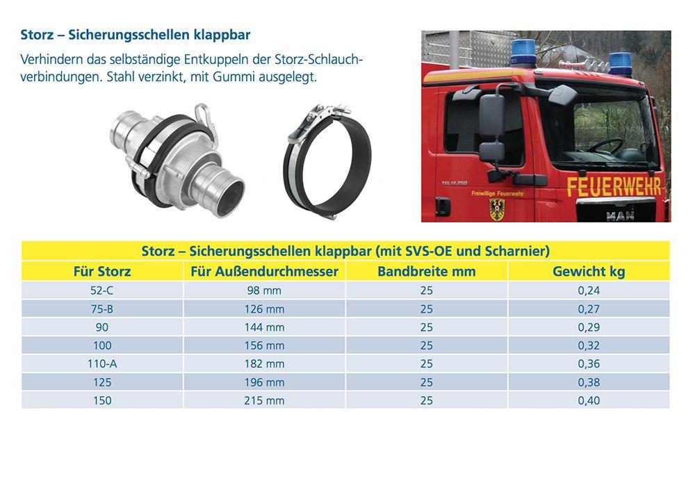 IQ-Parts Storz RVS 304 Veiligheidsklem voor Storz koppelingen