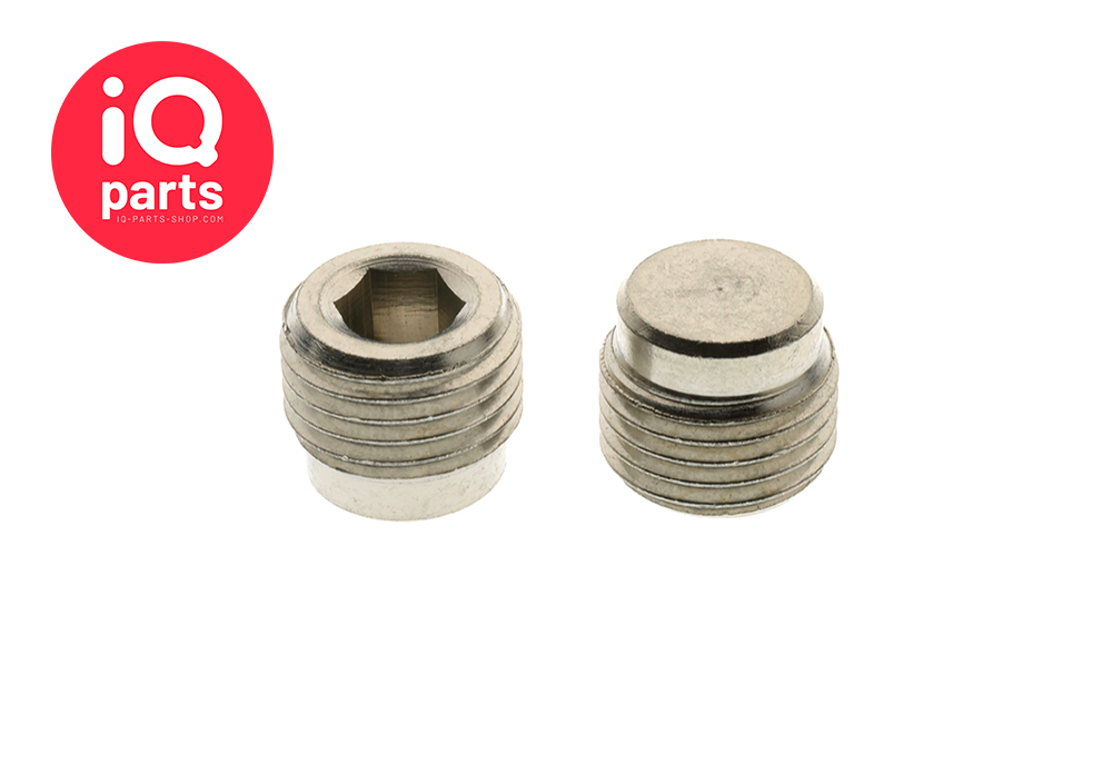 Nickel Plated Brass Plug BSP