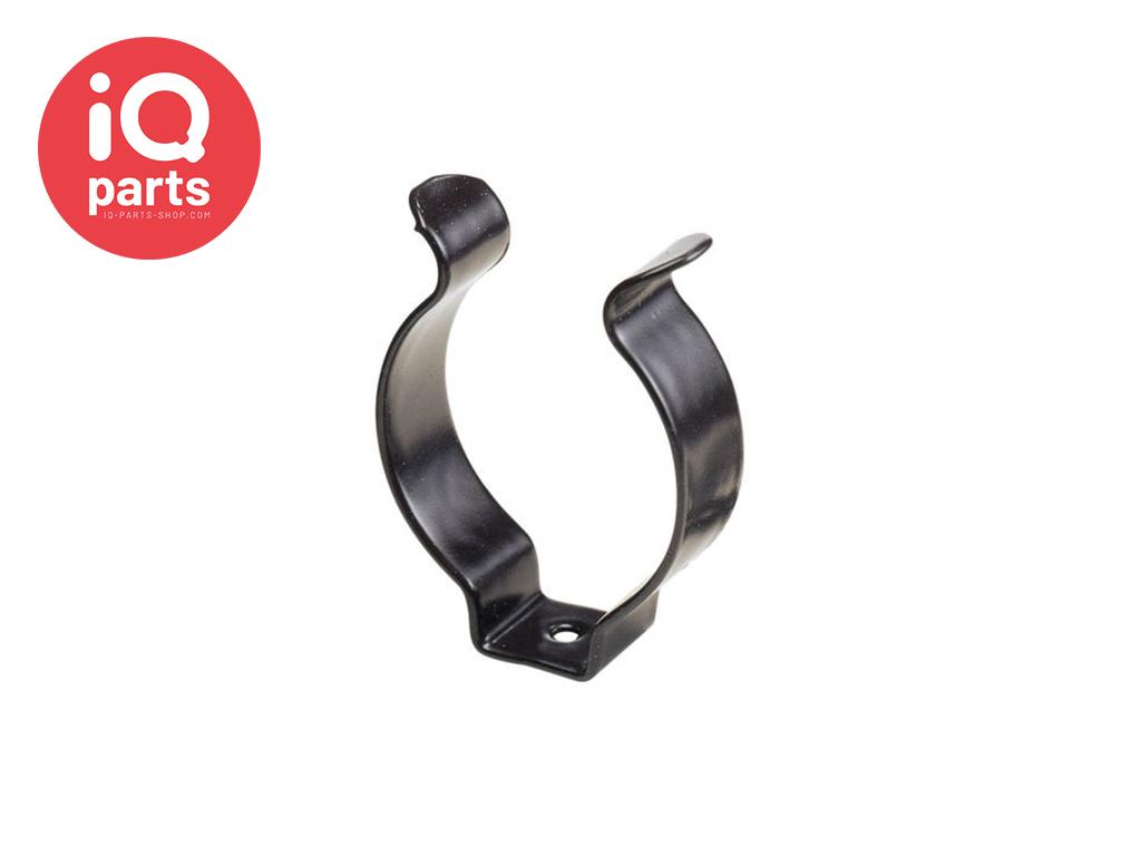 ABA ABA Tool clip - Mit schwarzer Nylonbeschichtung, Offene Ausführung W1
