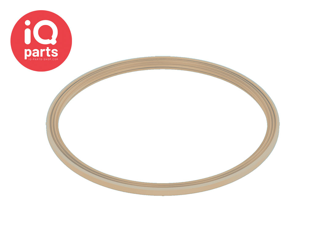 Spanring pakking Silicone Beige 1 mm