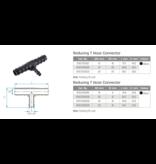 TEFEN TEFEN Kunststoff T-schlauchverbinder reduziert - Schwarz