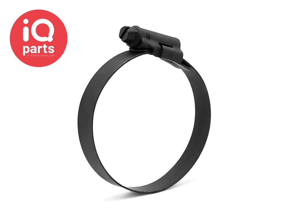ASFA-S W3  - 12 mm slangklem / wormschroefklem Zwart DIN 3017