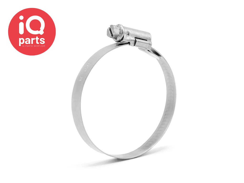 ASFA-L W4- 9 mm Hose Clamp / Worm Drive Clip DIN 3017