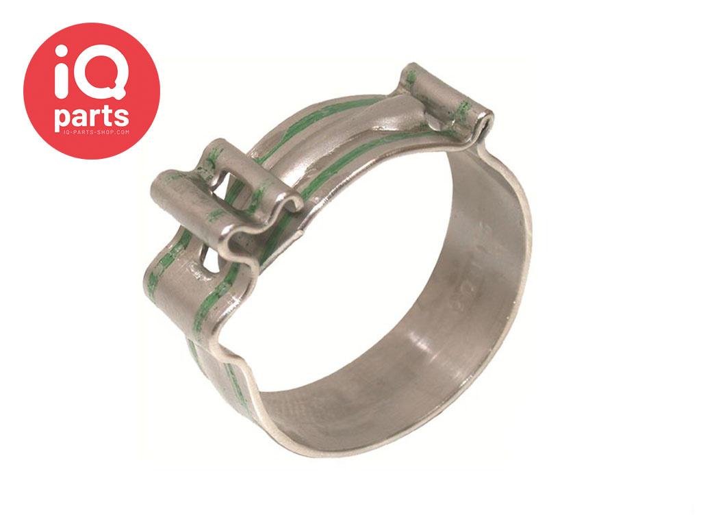 Cobra Schraublose Schlauchschellen aus Edelstahl AISI 304