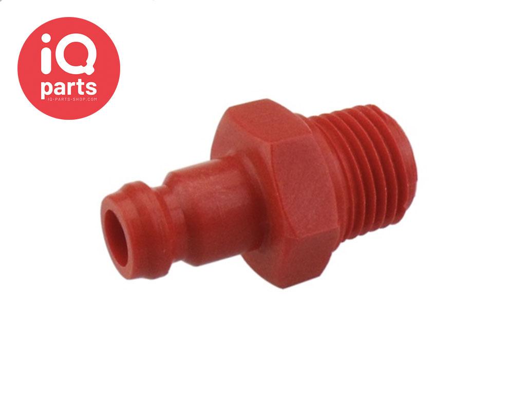 BSPT Male Hose Plug
