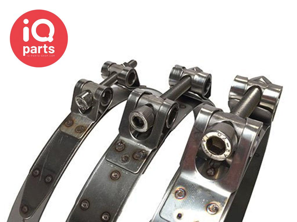 Schlauchschelle maßgeschneidert 20-25 - 30 mm breit W4 (AISI 304)