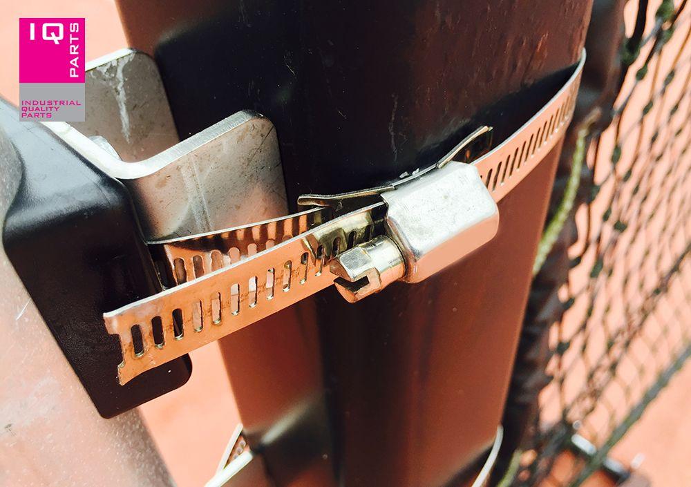 IQ-Parts Eindloze slangklem 14 mm breed W4 (RVS 304)