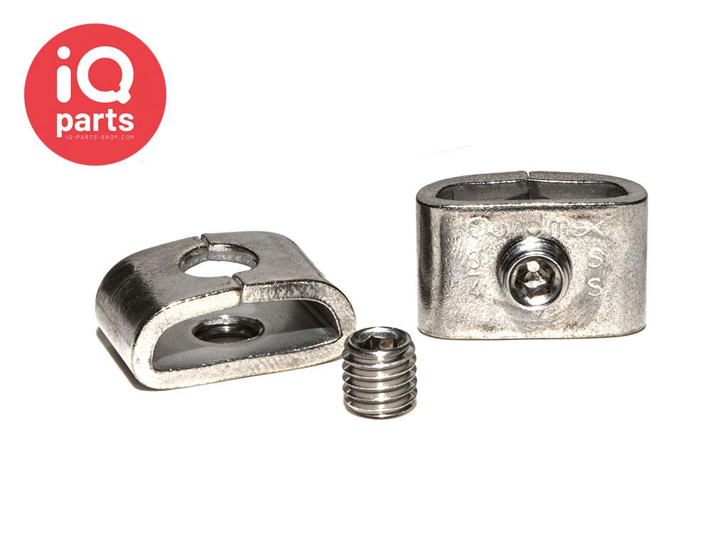 Screw-lock Buckles V2A - W4