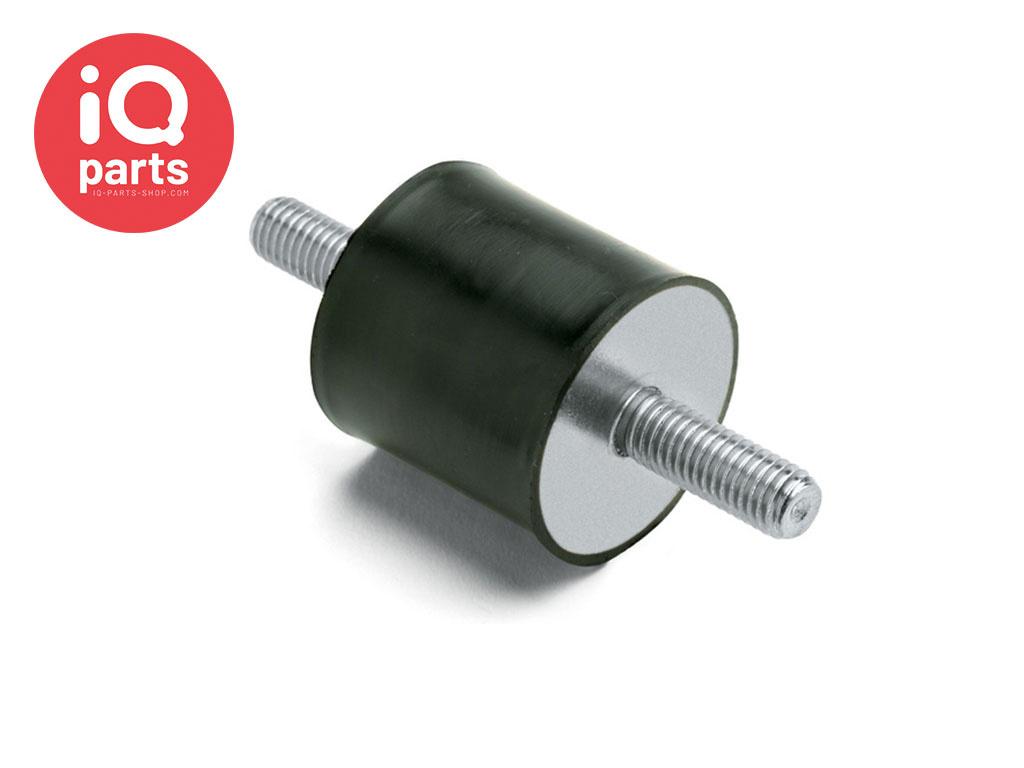 Vibration mounts Type A (60 shore) AISI 304