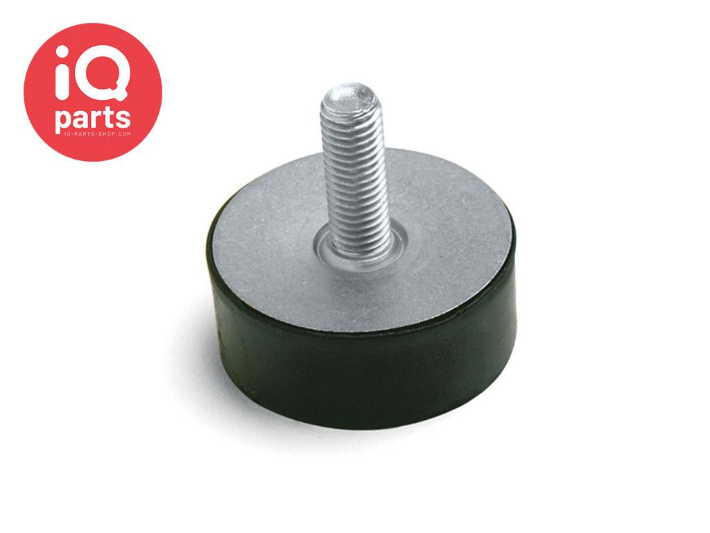 Vibration mounts Type D (60 shore) AISI 304