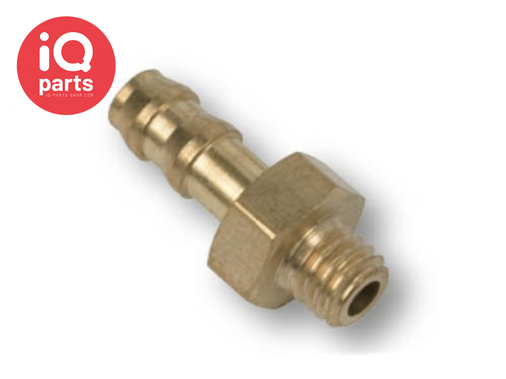 Brass Hose Connector M3