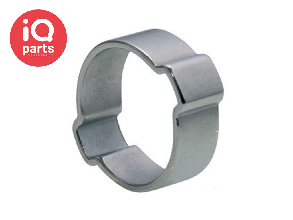 2-Ohrschellen - W1 Verzinkter Stahl