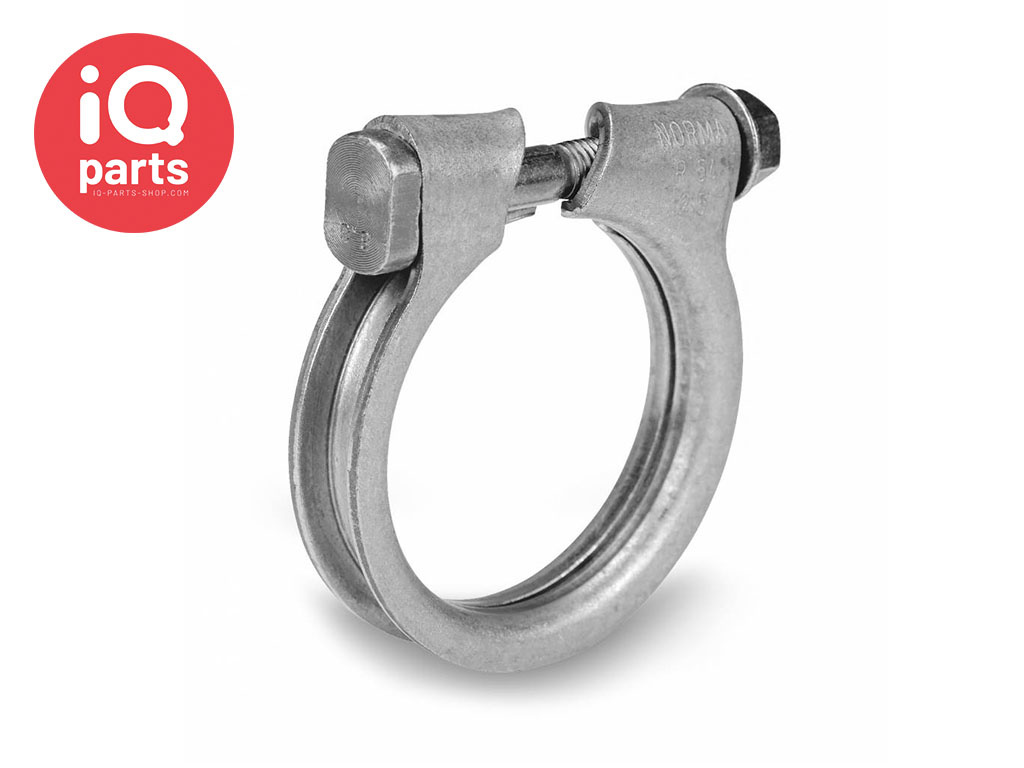 NORMA ARS Exhaust pipe clamps - W1 Sinc Plated