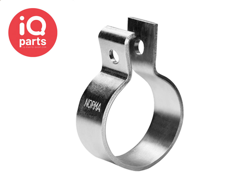 Normaconnect RS exhaust pipe clamp - DIN 71555 - W1 Sinc Plated