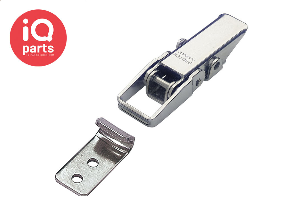 Toggle Latch with Catch Plate W4 (stainless steel AISI 304)
