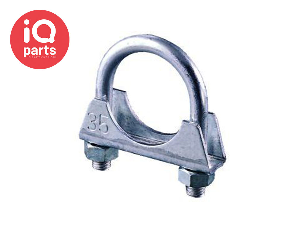 IQ-Parts Exhaust Clamp universal M8 - W1