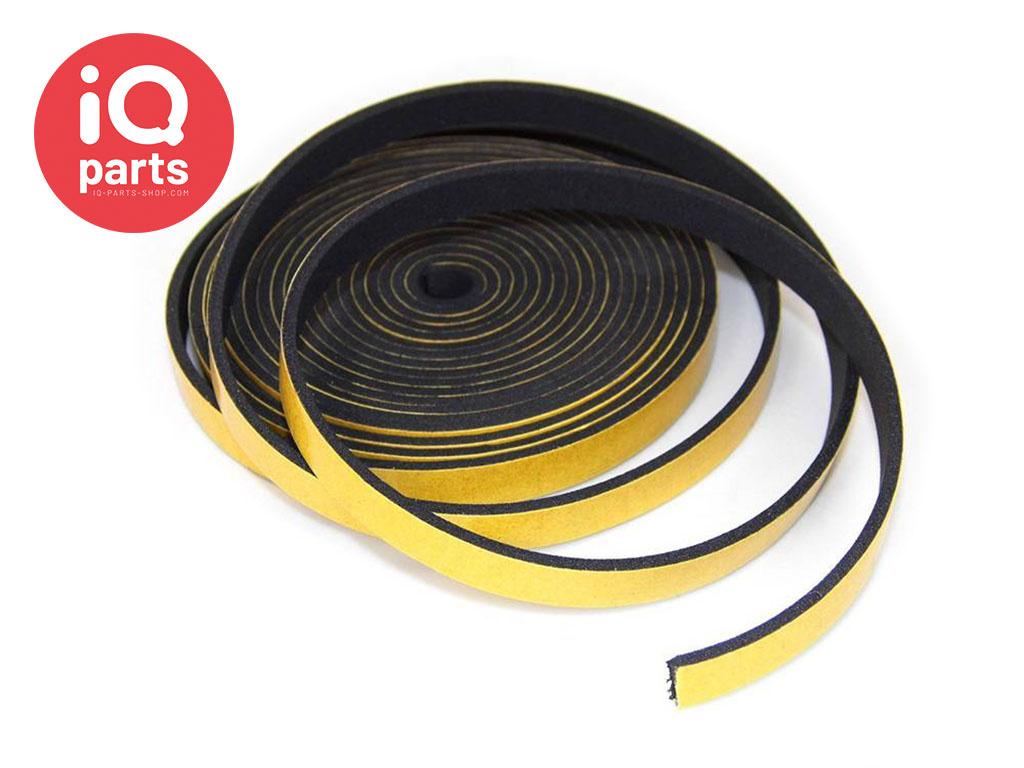 EPDM Celrubber strip zelfklevend (10 meter rol)