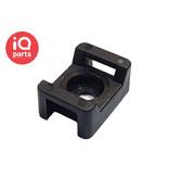 IQ-Parts Nylon Kabelbinder voet / bevestigingsvoet