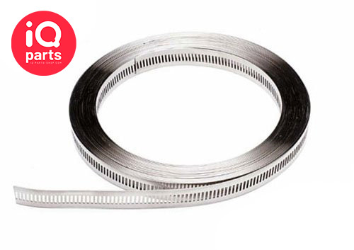 Multi Torque Band Endlose Schlauchschelle  - 16 mm - W5 - 30 m