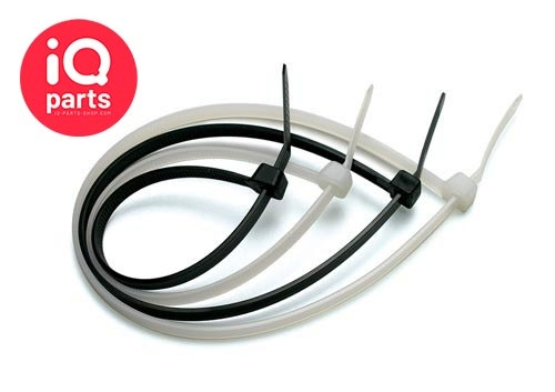 Nylon Kabelbinder / Befestigungsbinder - Weiß