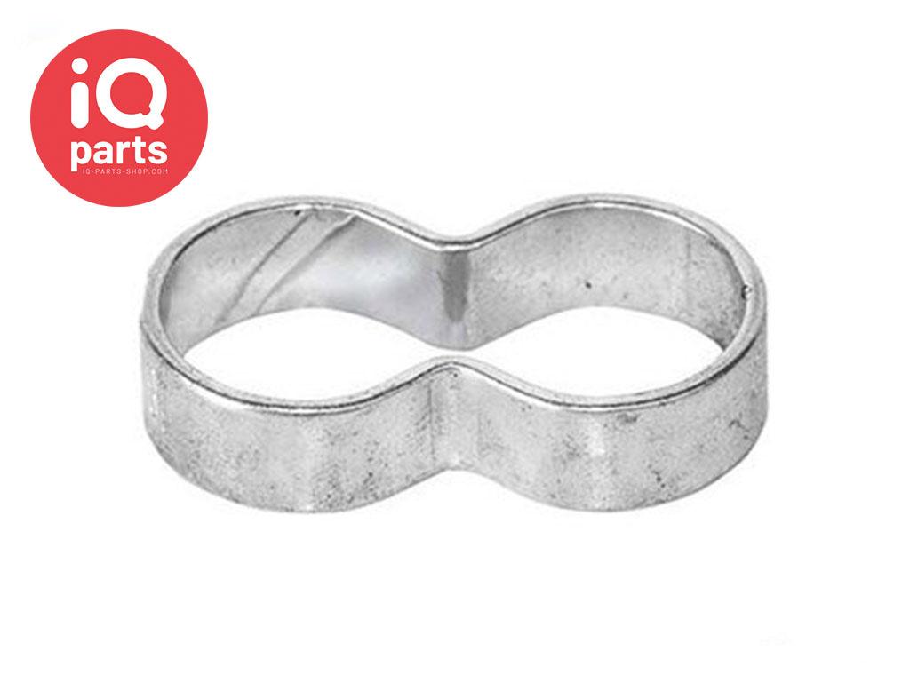 Oetiker Double / Twin Ear clamp Type 108 | W1 (Galvanised)