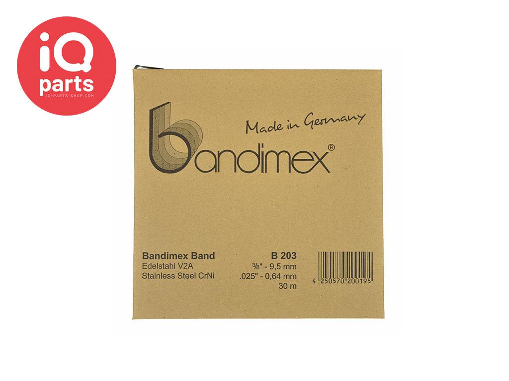 Bandimex Bandimex Clamping band V2A - W4 (AISI 304)