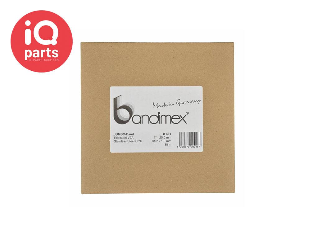 Bandimex Bandimex Jumbo Klemband V2A - W4 (RVS 304)