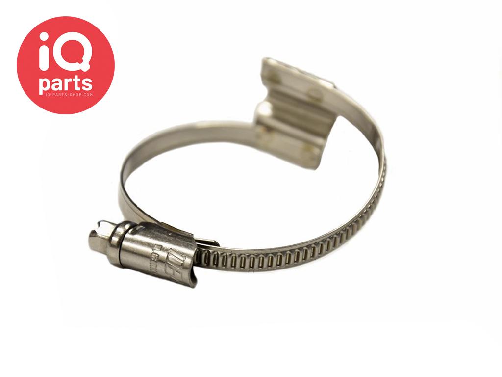 Bridge clamp - Hose clamp with Bridge W4 - 5 mm